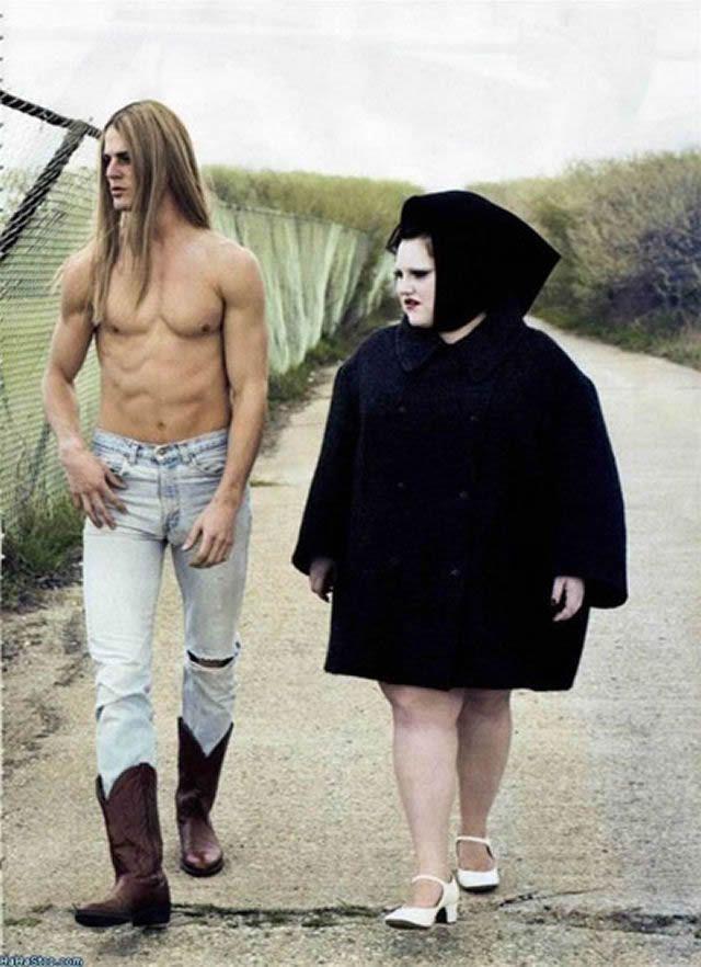 parejas más extrañas del mundo (41)