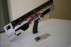 Rifle automático de pulsos electromagnéticos