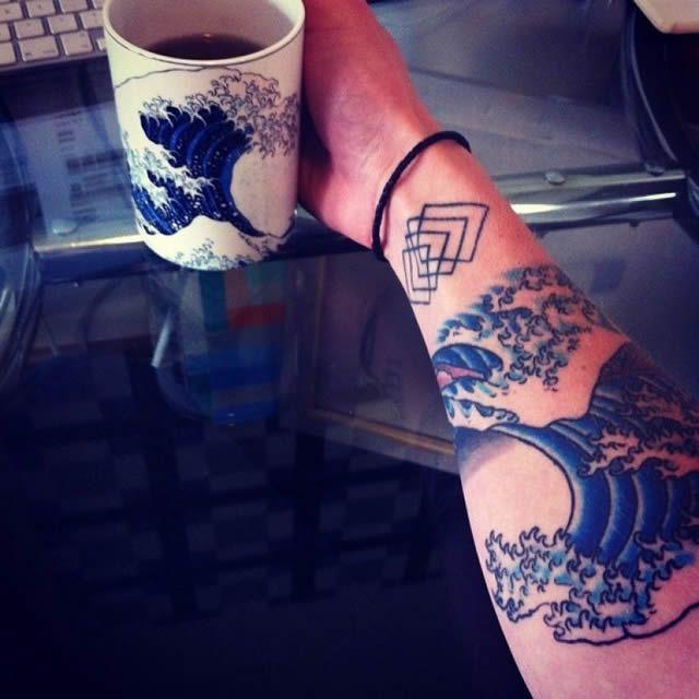41 tatuajes increíbles inspirados en obras de arte 01