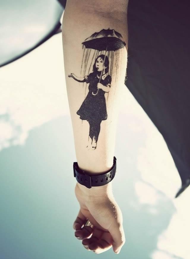 41 tatuajes increíbles inspirados en obras de arte 03