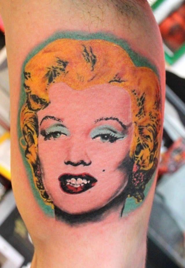 41 tatuajes increíbles inspirados en obras de arte 11