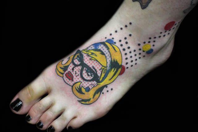 41 tatuajes increíbles inspirados en obras de arte 14