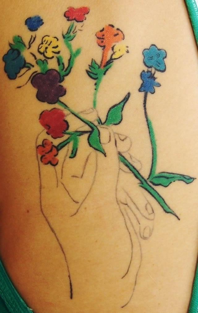 41 tatuajes increíbles inspirados en obras de arte 17