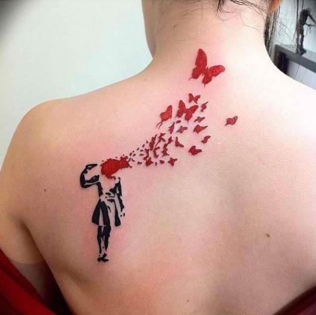 41 tatuajes increíbles inspirados en obras de arte 18