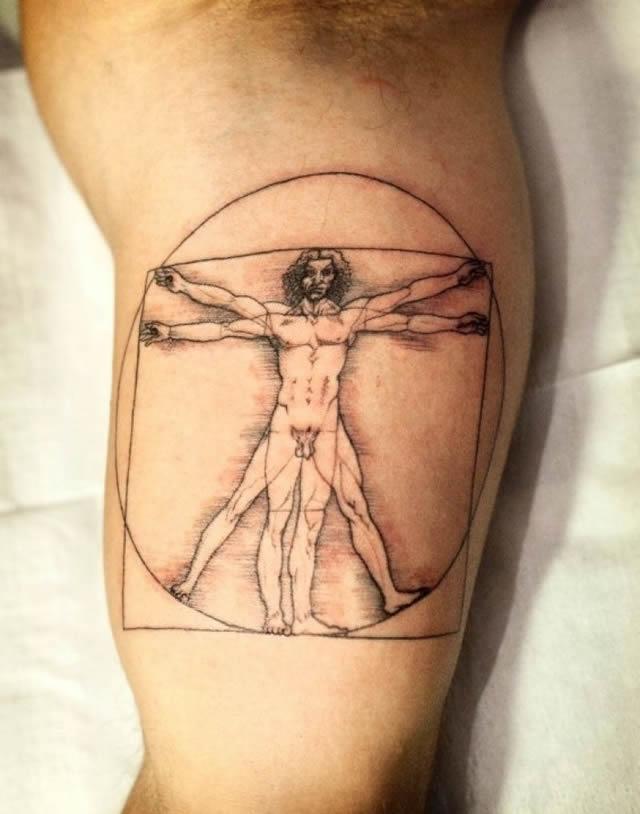 41 tatuajes increíbles inspirados en obras de arte 25