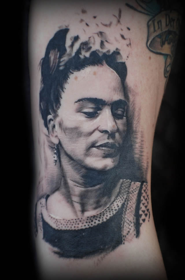 41 tatuajes increíbles inspirados en obras de arte 27