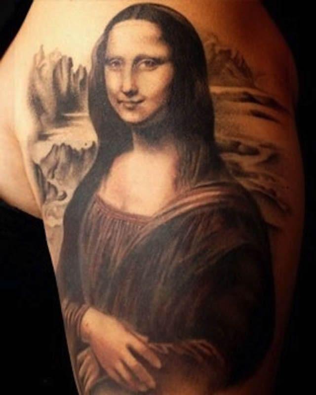 41 tatuajes increíbles inspirados en obras de arte 30