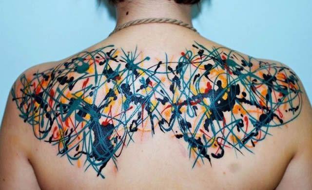 41 tatuajes increíbles inspirados en obras de arte 31