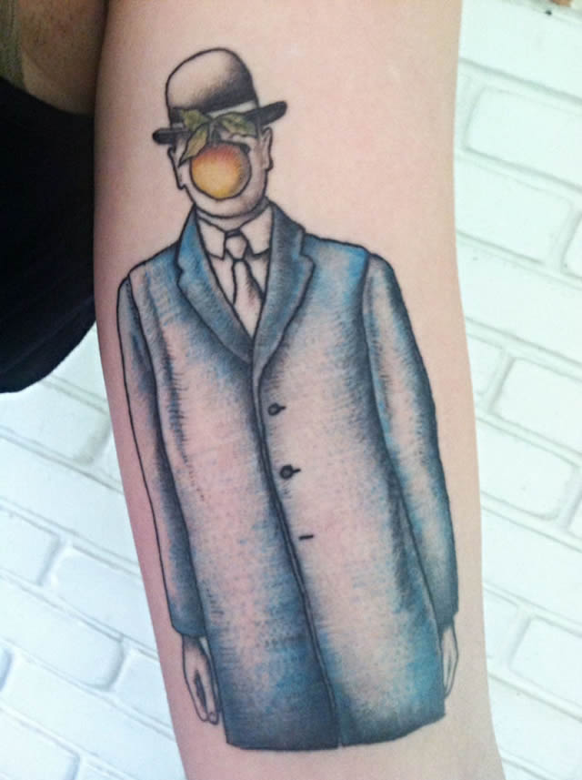 41 tatuajes increíbles inspirados en obras de arte 34