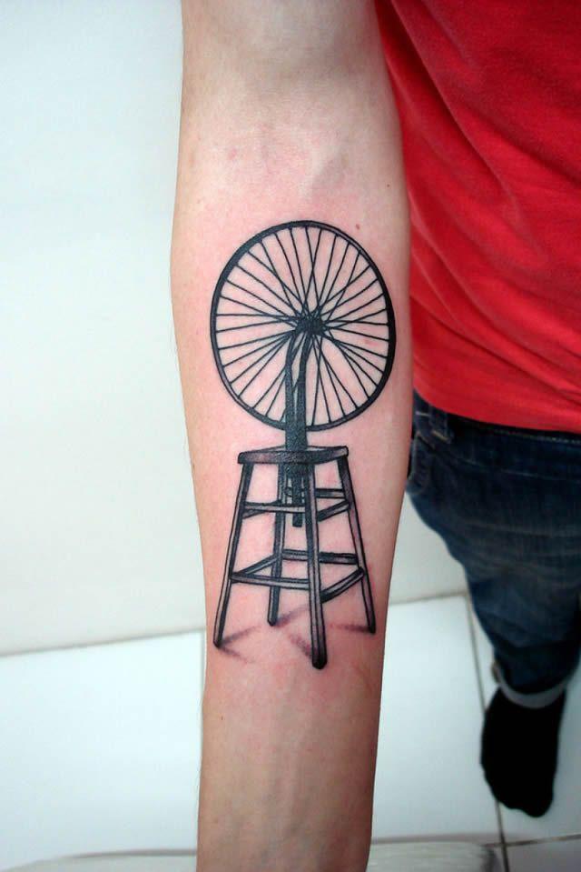 41 tatuajes increíbles inspirados en obras de arte 35