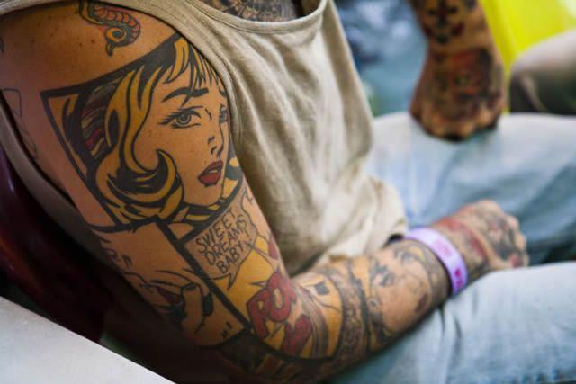 41 tatuajes increíbles inspirados en obras de arte 38