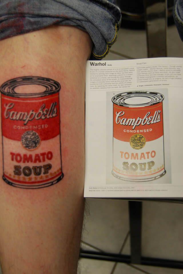 41 tatuajes increíbles inspirados en obras de arte 39