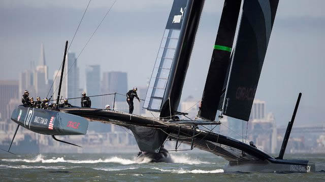 Oracle AC72 Catamaran