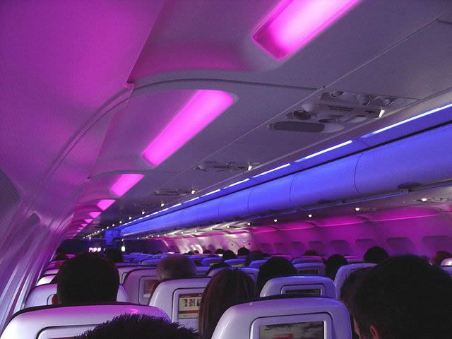 Virgin America avion