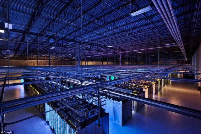 servidores google
