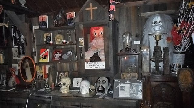 Annabelle museo ocultismo