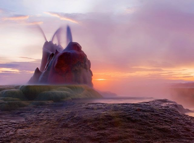 Fly Geyser Nevada 2