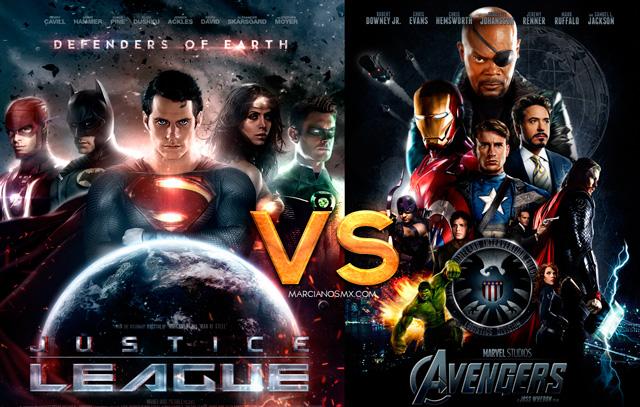Los Vengadores vs Liga de la Justicia - Marcianosmx