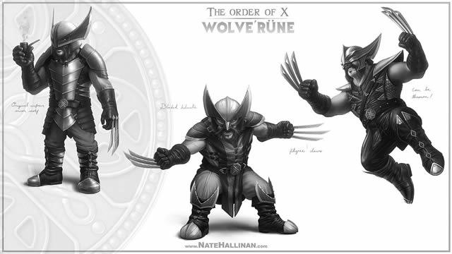 Order of X - X-Men Medievales (9)