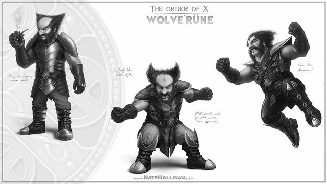 Order of X - X-Men Medievales (16)