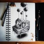 Los asombrosos dibujos del ilustrador PEZ