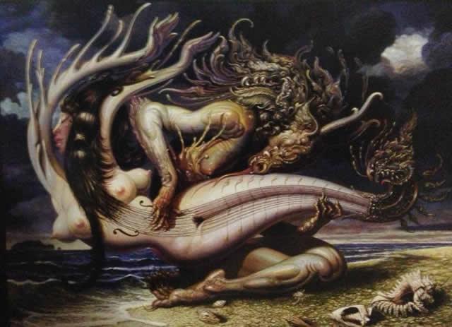 Prateep Kochabua pinturas surrealismo (5)