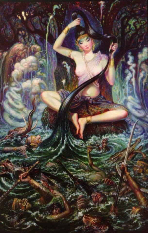 Prateep Kochabua pinturas surrealismo (15)