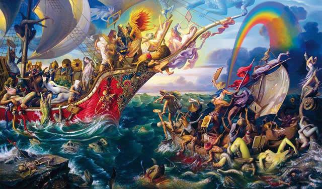 Prateep Kochabua pinturas surrealismo (14)