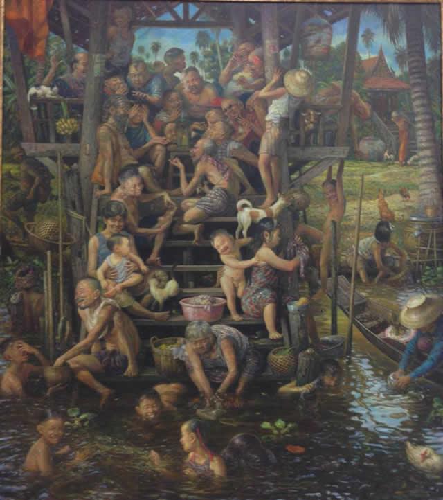 Prateep Kochabua pinturas surrealismo (11)