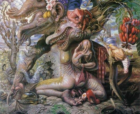 Prateep Kochabua pinturas surrealismo (9)
