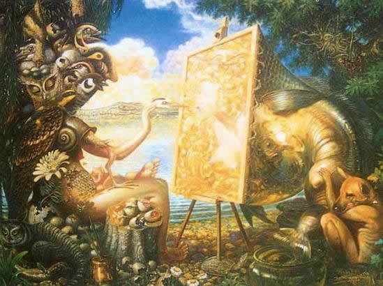 Prateep Kochabua pinturas surrealismo (3)