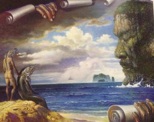 Prateep Kochabua pinturas surrealismo (1)