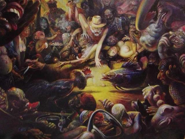 Prateep Kochabua pinturas surrealismo (19)