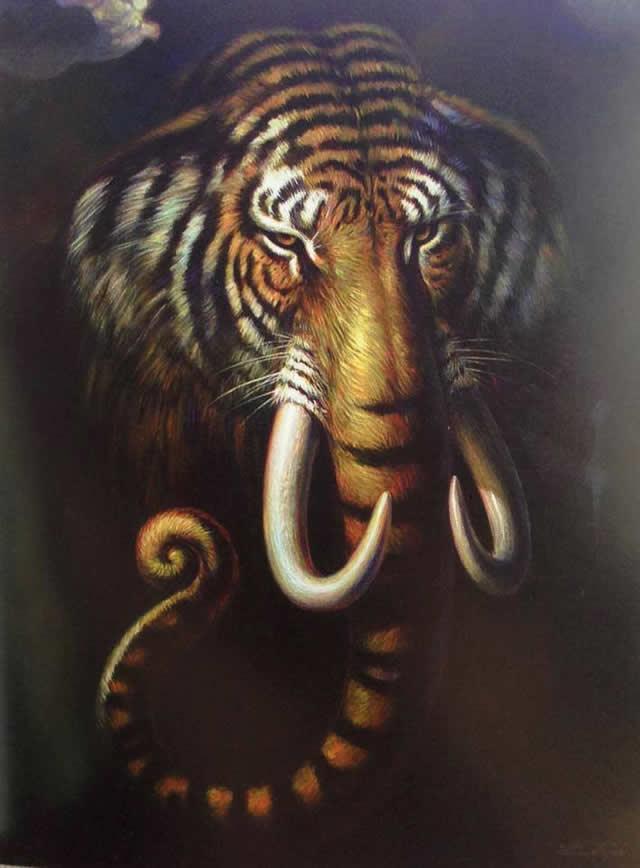 Prateep Kochabua pinturas surrealismo (17)
