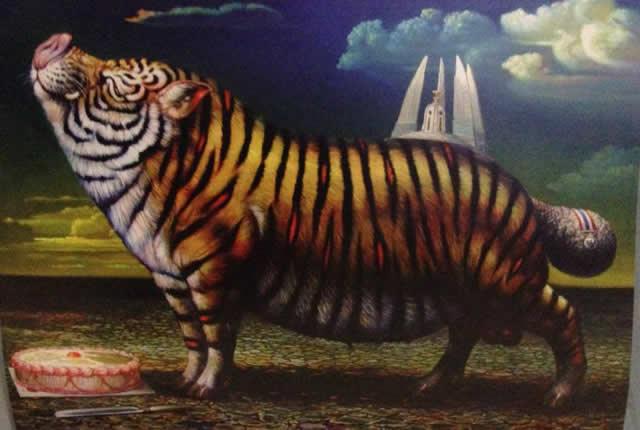 Prateep Kochabua pinturas surrealismo (16)
