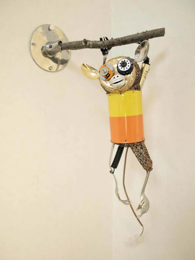 esculturas animales recicladas Natsumi Tomita (10)