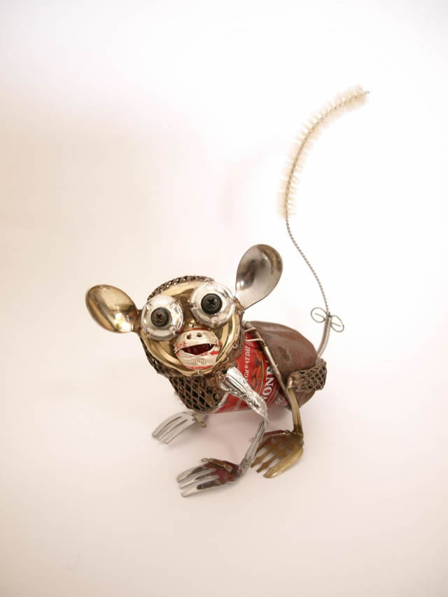 esculturas animales recicladas Natsumi Tomita (4)