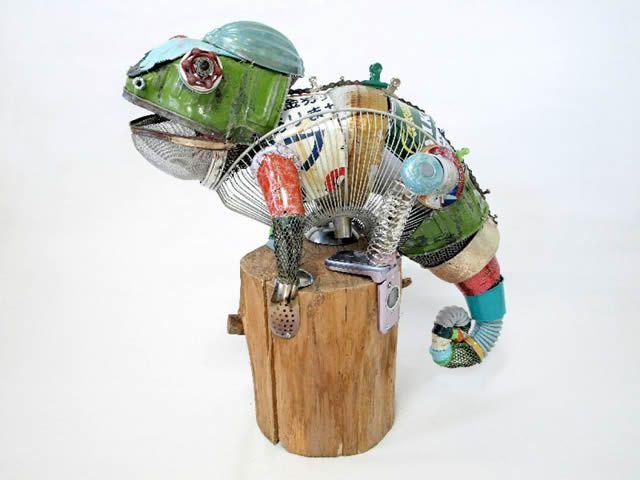 esculturas animales recicladas Natsumi Tomita (8)