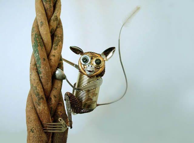esculturas animales recicladas Natsumi Tomita (6)