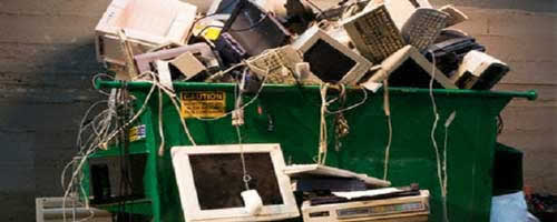 obsolescencia programada y basura
