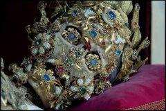 Esqueletos con joyas, santos catacumbas roma (11)