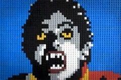 Thriller Michael Jackson LEGOs