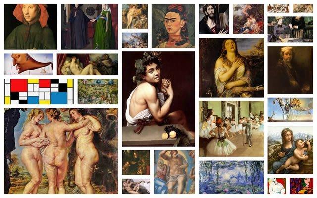 Cómo reconocer pintores famosos según Internet