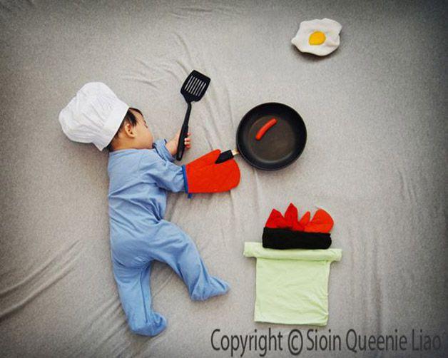 Fotos bebe durmiendo avanturas Queenie Liao (1)