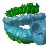 Cepillo de dientes impreso en 3D promete limpieza perfecta en 6 segundos