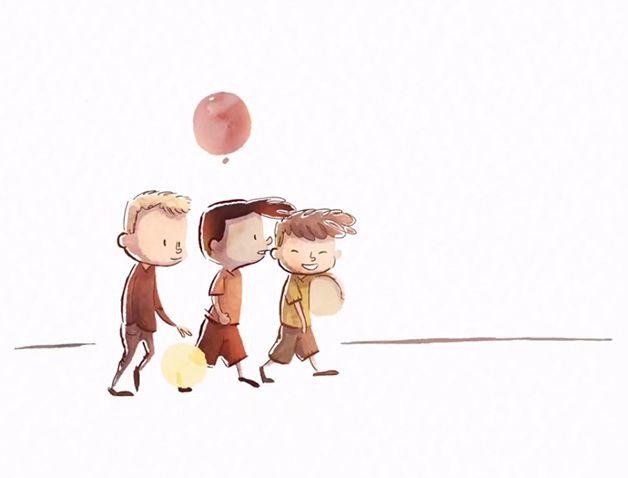 Floating in My Mind cortometrajr animado (1)