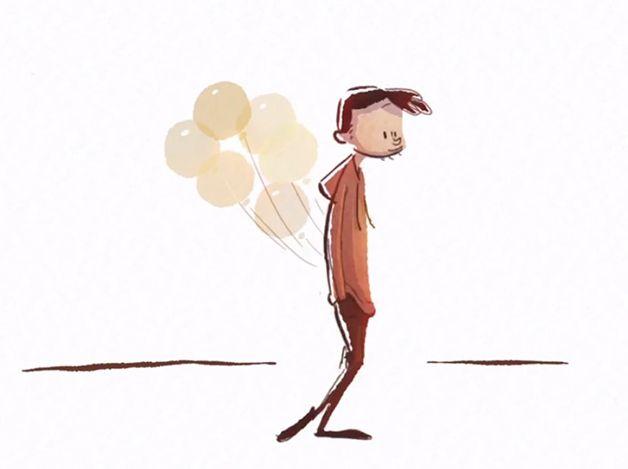 Floating in My Mind cortometrajr animado (4)