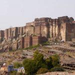 Fortaleza Mehrangarh en Jodhpur, India