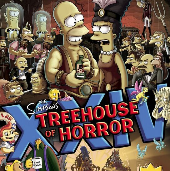 Los Simpson Treehouse of Horror XXIV