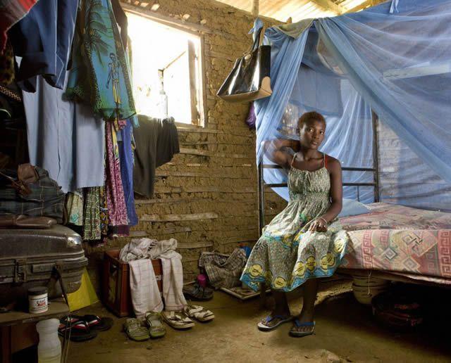 Habitaciones de mujeres jóvenes en todo el mundo 02